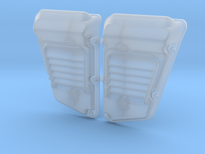 Land Rover Defender Wolf Intakes (pair) in Smooth Fine Detail Plastic