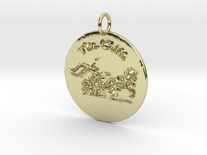 The Celts Pendant 2 in 18k Gold