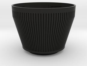Zenza Bronica ETR To Sony E-mount in Black Natural Versatile Plastic