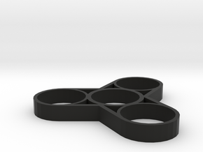 "Fidget Spinner ""Weight Reduction"" in Black Strong & Flexible"