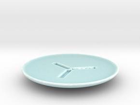 Underkop P in Gloss Celadon Green Porcelain