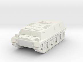 1/144 GT-MU tractor in White Natural Versatile Plastic