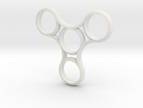 Autism toy in White Natural Versatile Plastic