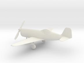 Bell XP-77 in White Natural Versatile Plastic: 1:64 - S