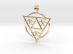 TRANCE INDUCTION in 14K Yellow Gold
