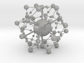 Complex Fractal Molecule in Aluminum
