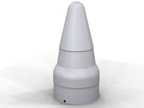 Titan ll Warhead Nose Cone for BT-80 in White Processed Versatile Plastic