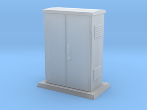 Padmount Electrical Box 01.  1:24 scale in Smooth Fine Detail Plastic