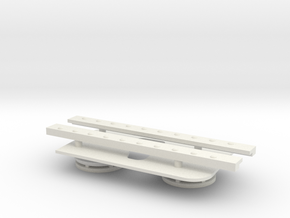 1/16 Brummbar periscope hatch and vents in White Natural Versatile Plastic
