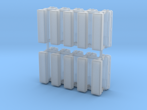 TL-light small (10pcs) in Smooth Fine Detail Plastic