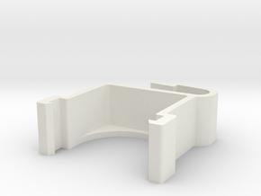 Blind Valance Clips 218 in White Natural Versatile Plastic
