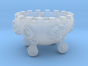 Witch Cauldron 28mm rpg PROP  in Smooth Fine Detail Plastic