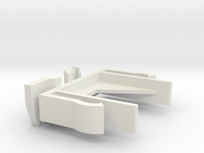 Verticals Valance Clips 007 in White Natural Versatile Plastic