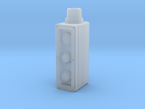 Industrial control box 1:6 scale in Smooth Fine Detail Plastic