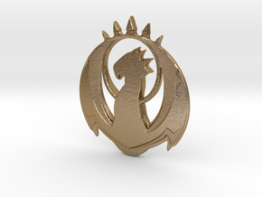 Izzet Sigil in Polished Gold Steel