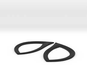 Accurate Homecoming  Lenses in Black Natural Versatile Plastic