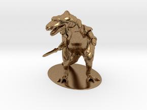 K'Chain Che'Malle Miniature in Natural Brass: 1:55