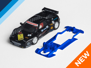 1/32 Proslot Ferrari F355 Chassis for slot.it AW in Blue Processed Versatile Plastic