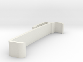 Blind Valance Clip 00170 in White Strong & Flexible