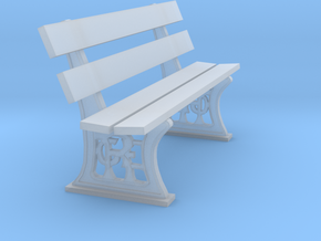 GER Bench 4mm scale in Smooth Fine Detail Plastic