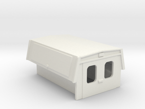 Utility Enclosure RPS Truck Bed 1-87 HO Scale in White Natural Versatile Plastic