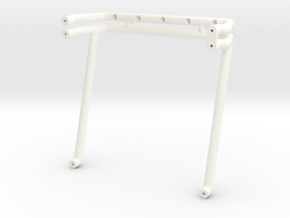 "1988 Chevy ""USA-1"" Rollbar in White Strong & Flexible Polished"