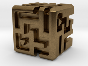 Sculpture: MAZE in Natural Bronze