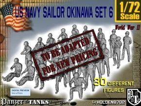 1/72 US Navy Okinawa Set 6 in Transparent Acrylic