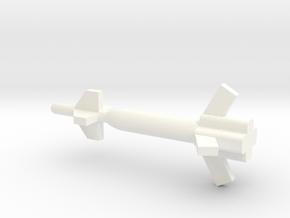 1/87 Scale Pathway GBU-27  Bomb in White Processed Versatile Plastic