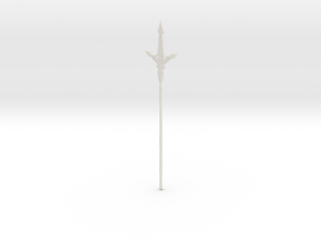 """BotW"" Frostspear in White Strong & Flexible: 1:12"