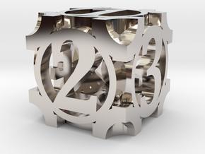 Daedal D6 - 16mm die in Platinum