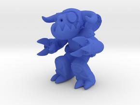 Gear Gremlin in Blue Processed Versatile Plastic
