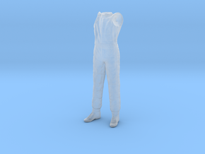 1/20 F1 Driver Standing Body in Smooth Fine Detail Plastic