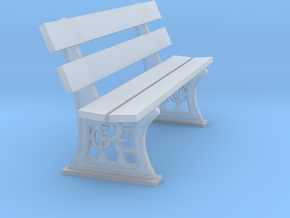 GER Bench 7mm scale in Smooth Fine Detail Plastic