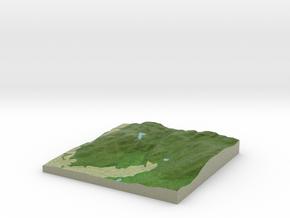 Terrafab generated model Fri Jan 20 2017 15:43:56  in Full Color Sandstone