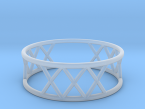 XXX Ring Size-11 in Smooth Fine Detail Plastic