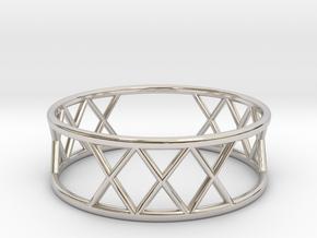 XXX Ring Size-11 in Platinum