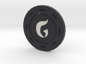 Gomorrah Poker Chip in Full Color Sandstone