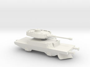 1/144 Panzerjaegerwagen tank train in White Natural Versatile Plastic