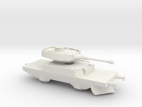 1/144 Panzerjaegerwagen tank train in White Strong & Flexible