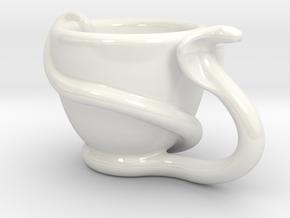cobresso left hand in Gloss White Porcelain