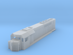 N Scale GP38h-3 in Smooth Fine Detail Plastic