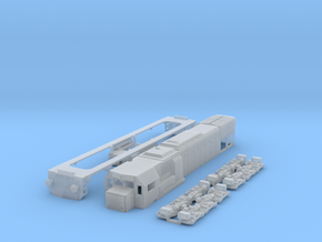 HO Scale GT22hcw or JZ-645 / HZ-2044 in Smooth Fine Detail Plastic