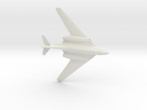 1:144 Me262 Hg III in White Natural Versatile Plastic