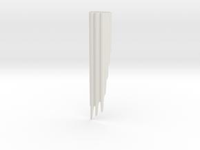 Honeycomium: chromatic chordal lap organ in White Natural Versatile Plastic