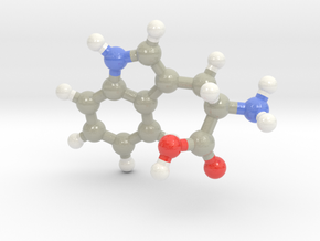 Tryptophan (W) in Glossy Full Color Sandstone