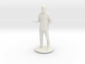 Printle C Homme 480 - 1/32 in White Natural Versatile Plastic