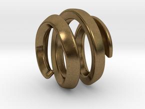filler for sphere spiral 16mm in Natural Bronze