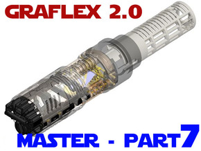 Graflex2.0 - Master Chassis - 7/7 Soundboard in White Strong & Flexible