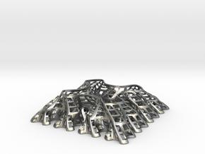 Sierpinski Square-Filling Fractal in Natural Silver